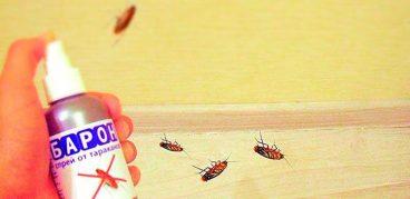 Средство от тараканов Барон – инструкция по применению