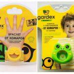 Браслет и клипса от комаров Gardex Baby