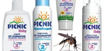 Спрей «Пикник» от комаров – Инструкция по применению, цена, отзывы