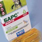 Эффективные каплиот блох и клещейдля кошек